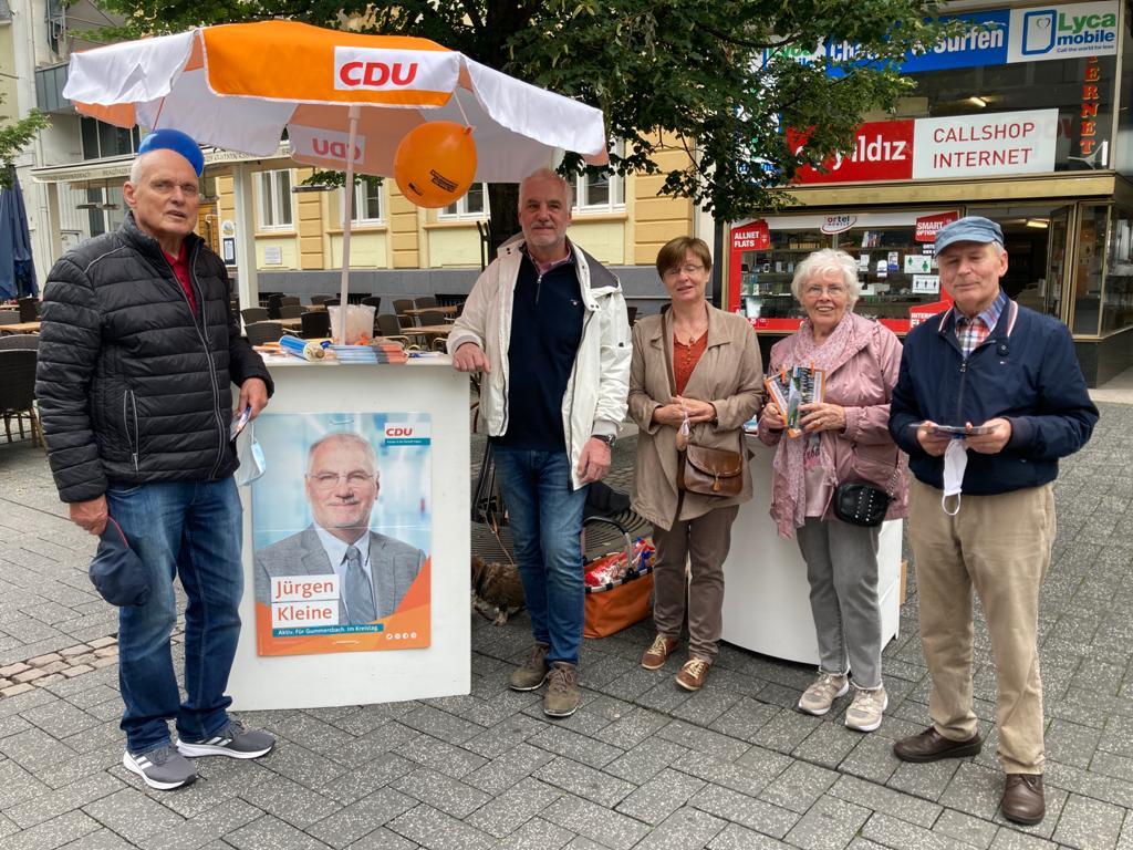 Unser Wahlkampf-Team für Gummersbach und Oberberg