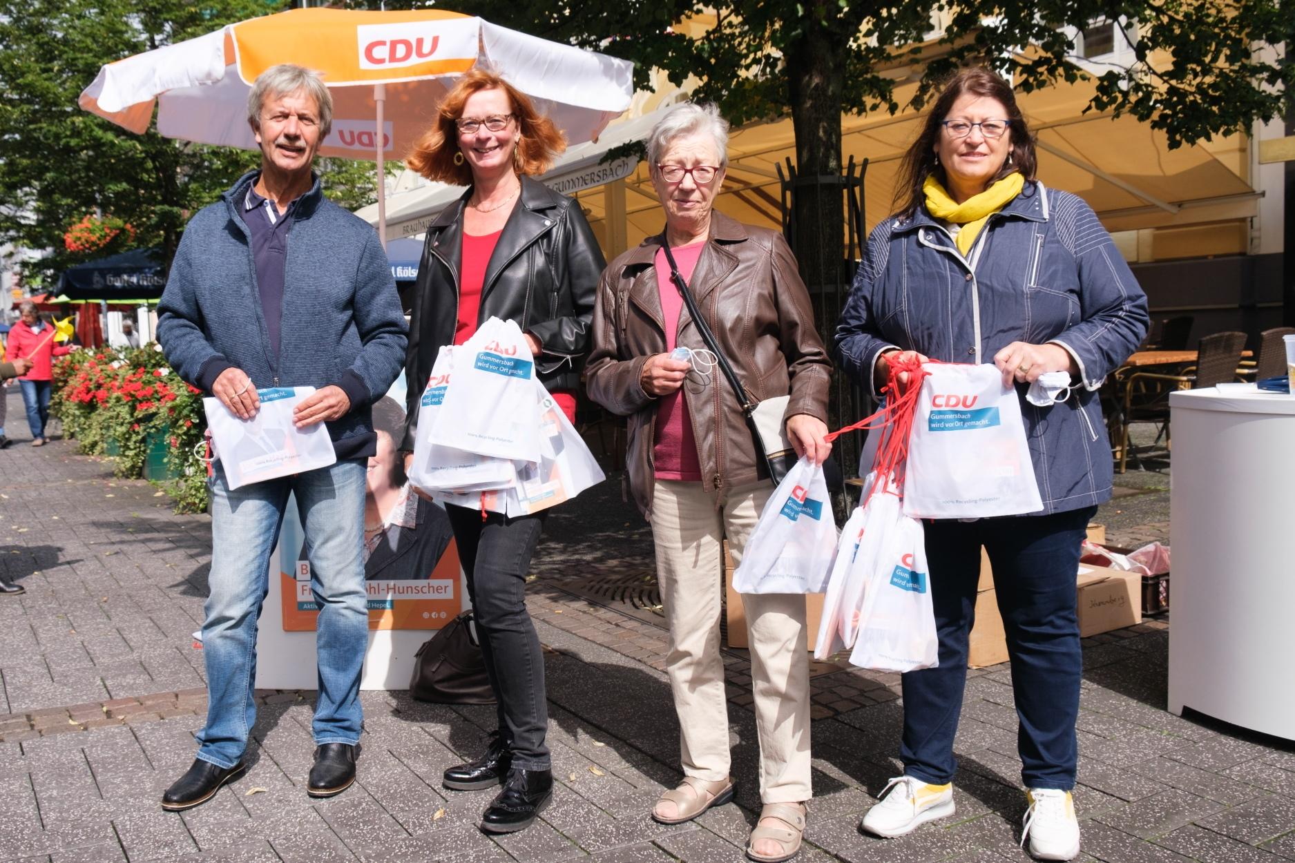 CDU Stand am 05.09.2020